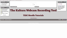 Thumbnail for entry Kaltura Webcam Recording Tool - Video Tutorial