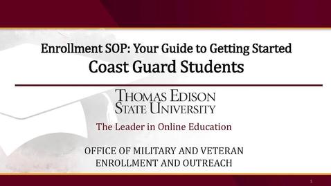 Thumbnail for entry Coast Guard Presentation