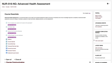 Thumbnail for entry Accessing Shadow Health and Grading Assignments