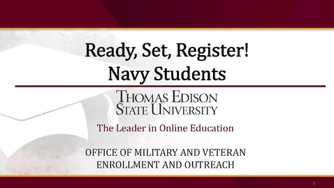 Thumbnail for entry Navy Presentation