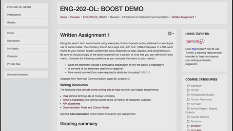Thumbnail for entry Analytic Rubric Grading