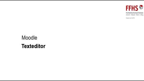 Vorschaubild für Eintrag Texteditor gebrauchen