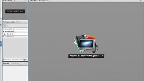 Vorschaubild für Eintrag Einfuehrung Bildschirmfreigabe