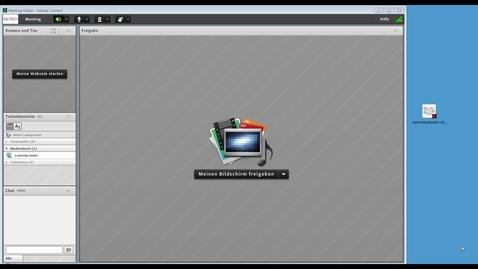 Vorschaubild für Eintrag Adobe Connect drag & drop