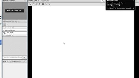 Vorschaubild für Eintrag Einführung Arbeiten Gruppenraum