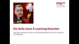 Vorschaubild für Eintrag Die Rolle eines E-Learning-Dozenten