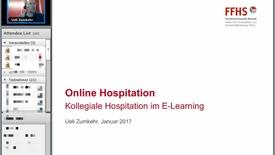 Vorschaubild für Eintrag Online Hospitation vom 10.1.2017