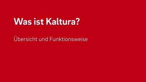 Vorschaubild für Eintrag Was kann Kaltura?