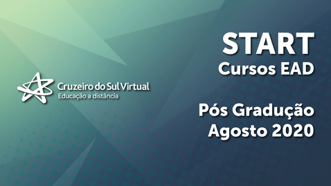 Miniatura para entrada Start Cruzeiro do Sul Virtual - Cursos EaD 2