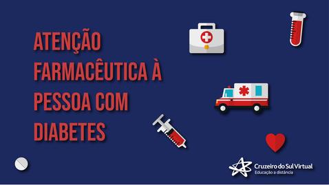 Miniatura para entrada Atenção farmacêutica à pessoa com diabetes
