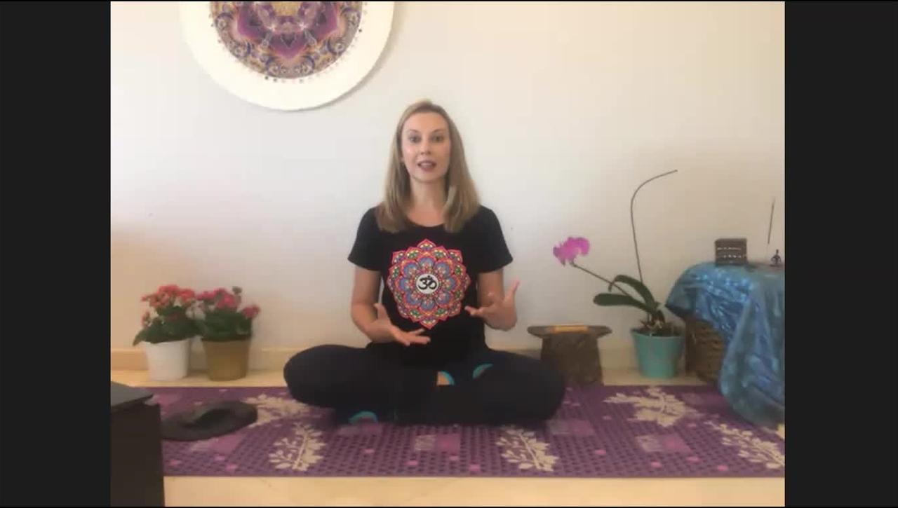 Encontro Online do curso Mindfulness no Ambiente de Trabalho