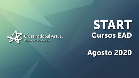 Miniatura para entrada Start Cruzeiro do Sul Virtual - Cursos EaD 3