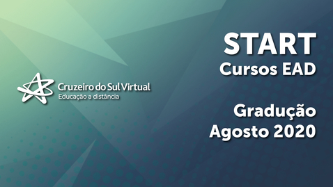 Miniatura para entrada Start Cruzeiro do Sul Virtual - Cursos EaD