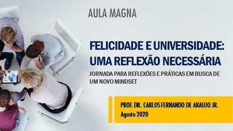 Miniatura para entrada Aula magna com Pró-Reitor de Educação a Distância Prof. Dr. Carlos Fernando de Araujo Jr.