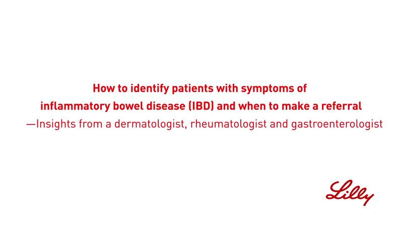 Clinical insights to identify patients with symptoms of IBD and inflammatory immune-mediated disease