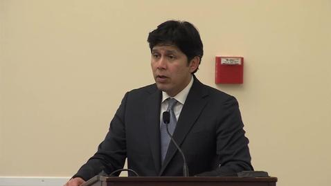 Thumbnail for entry CCWAS - Keynote - Kevin de Leon (04-04-2016)