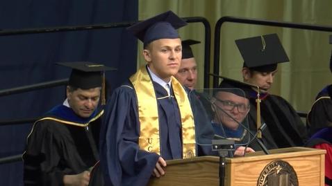 Thumbnail for entry 2016 College of Engineering Student Speaker Rylan Schaeffer