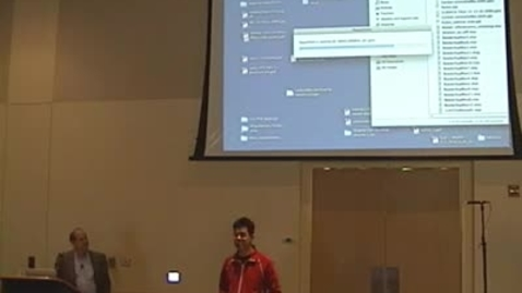 Thumbnail for entry Storer Lecture - Elliott Meyerowitz 03-11-2010