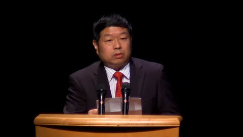 Thumbnail for entry Confucius Institute Grand Opening Ceremony 2013: Dr. Chen Jian