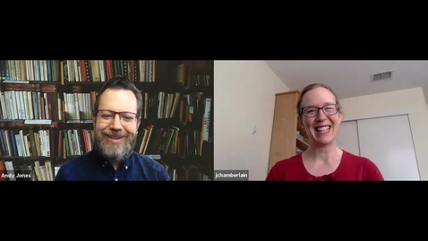 Thumbnail for entry SITT 2020 Interview: Andy Jones and Julia Chamberlain