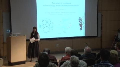 Thumbnail for entry Storer Lecture Series - Nancy Moran June 5, 2013