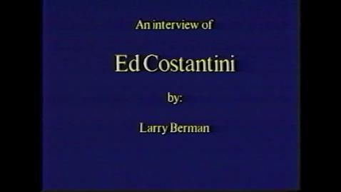 Thumbnail for entry Edmond Costantini