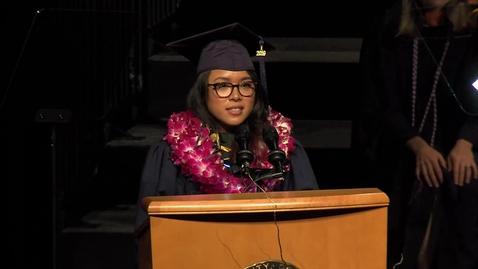 Thumbnail for entry 2019 School of Nursing Student Speaker - Faith Genove - June 13, 2019