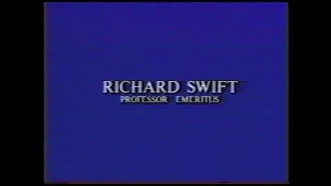 Thumbnail for entry Richard Swift