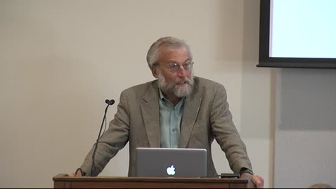 Thumbnail for entry The Provost's Forum 2013-14: David C. Mowery