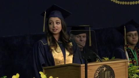 Thumbnail for entry 2017 College of Letters & Science Student Speaker - Srishti Birla