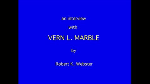 Thumbnail for entry Vern Marble
