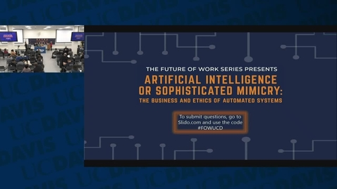 Thumbnail for entry Artificial Intelligence or Sophisticated Mimicry: The Business and Ethics of Automated Systems