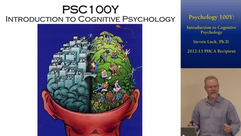 Thumbnail for entry Psychology 100Y: Introduction to Cognitive Psychology | Online and Hybrid Showcase 2014
