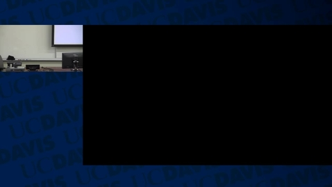 Thumbnail for entry ECN122A: 2016-02-01 10:00