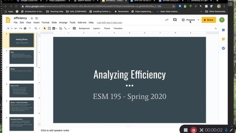 Thumbnail for entry ESM195_Spring2020_AnalyzingEfficiency