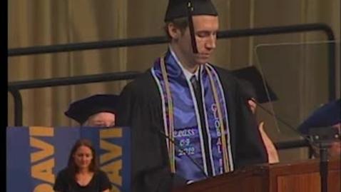 Thumbnail for entry 2012 Letters and Science Commencent Speaker Austin Sendek