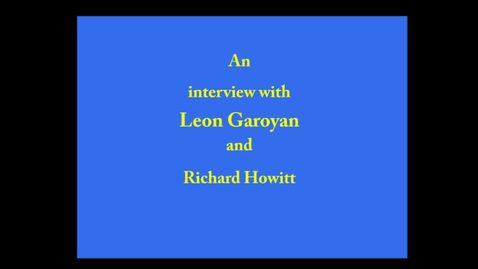 Thumbnail for entry Leon Garoyan