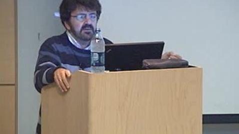 Thumbnail for entry Storer Lecture - Nikos Logothetis 01-11-2010