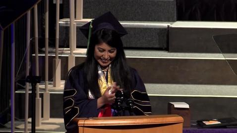 Thumbnail for entry 2019 Med School Student Speaker - Nika Carrillo - May 17, 2019