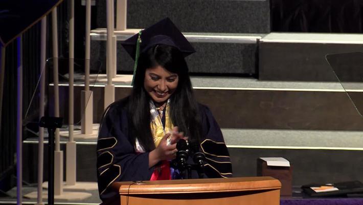 2019 Med School Student Speaker - Nika Carrillo - May 17, 2019
