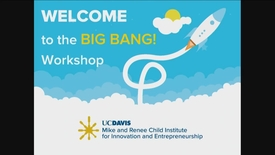 Thumbnail for entry 2018-2019 Big Bang! Workshops - Starting Something That Matters - November 1, 2018