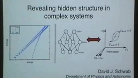 Thumbnail for entry David Schwab, Physics Colloquium, Oct. 3, 2016