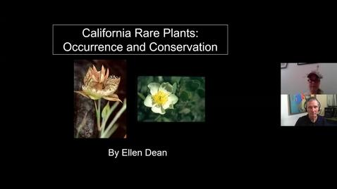 Thumbnail for entry Guest_Lecture_Rare_Plants_Ellen_Dean