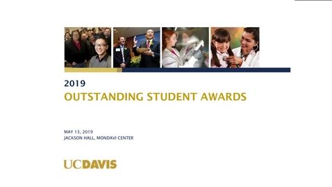 Thumbnail for entry 2019 Student Awards Ceremony - May 13, 2019