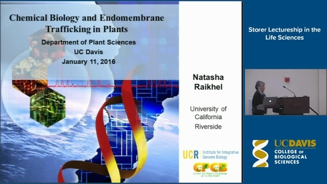 Thumbnail for entry Storer Lecture - Natasha Raikhel 1-11-16