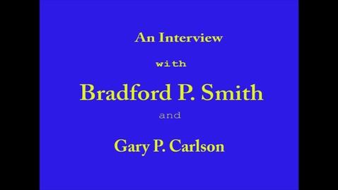 Thumbnail for entry Bradford Smith