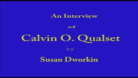 Thumbnail for entry Calvin Qualset