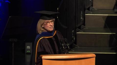 Thumbnail for entry 2019 Vet Med Keynote - Sharon Stevenson - May 24, 2019