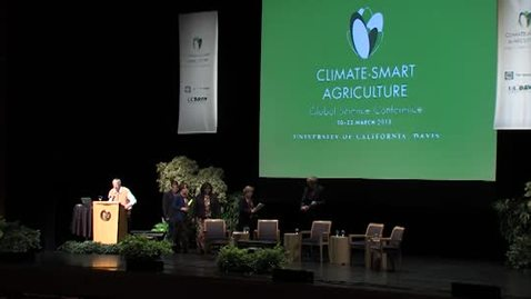 Thumbnail for entry Climate-Smart Plenary 3-22-13 : 2:00 pm – 3:45 pm