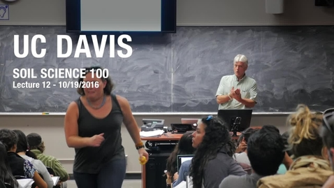Lecture 12 - SSC 100 - 10/19/2016